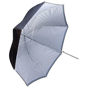 9. White-Black-Umbrella